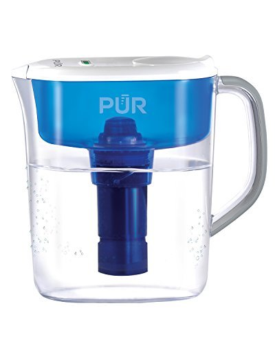 PUR 11 Cup Ultimate Pitcher with LED Indicator, Clear/Blue by PUR (Pur Water Pitcher 11 Cup compare prices)