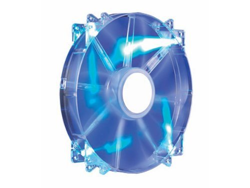 Cooler Master MegaFlow 200 - Sleeve Bearing 200mm Blue LED Silent Fan for Computer Cases (Cooler Master Replacement Fan compare prices)