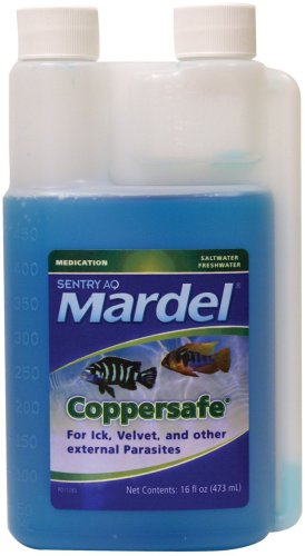 Mardel CopperSafe Fish Treatment (Freshwater/Saltwater), 16-Ounce