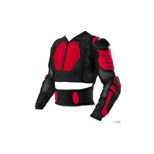 Amazon.com : Fox Launch Suit Black/Red XXL : Cycling Protective Gear