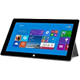 "Microsoft Surface 2 Tablet 32GB - Windows RT 8.1, 10.6"" 1920x1080 1080P LCD Touchscreen, Front and Rear Camera Office RT 2013 Included-Reconditioned"