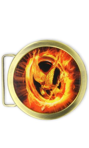 The Hunger Games Movie Belt Buckle