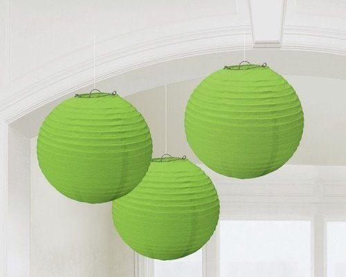Lantern Rd 9 Inches - Green 3 Ct [2 Retail Unit(s) Pack] - 24055.53