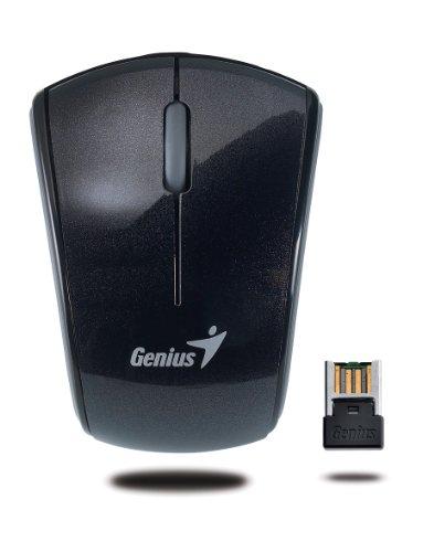 Genius Micro Traveler 900S Black Super Mini 2.4GHz Wireless Notebook Mouse