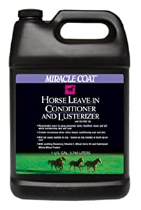 Miracle Coat Leave-In Conditioner and Lusterizer 1 Gallon