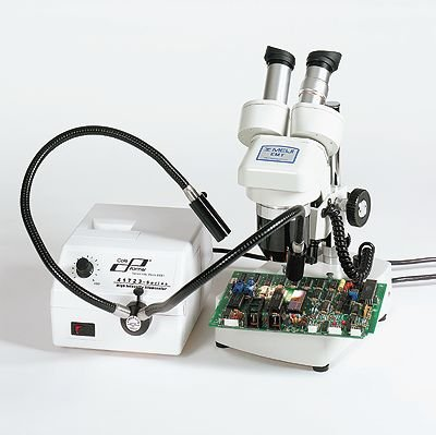 Cole-Parmer Microscopy Fiber Optic Illuminator, No Light Pipe; 230 Vac