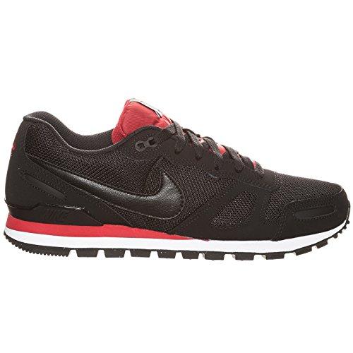 Nike Air Waffle Trainer, Unisex-Erwachsene Sneakers, Schwarz (Black/Black-Gym Red-White), 47.5