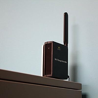 Spy-MAX Wi-Fi Range Extender Night Vision Hidden Camera w/ DVR & WiFi View