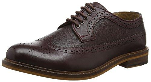 ben-sherman-deon-longwing-2-scarpe-stringate-uomo-colore-marrone-oxblood-taglia-40-eu-6-uk