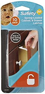 Safety 1st 10 Pack Spring n' Release Latches