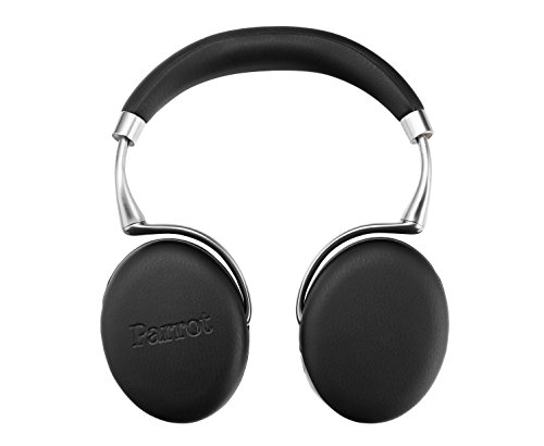 Parrot Zik 3 Cuffie Bluetooth, in Pelle, Nero