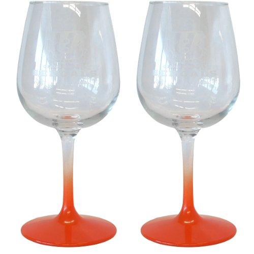 NFL Cincinnati Bengals Wine Glass, 12-ounce, 2-Pack