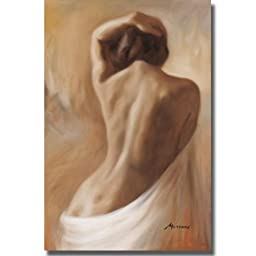 Figurative One by Julianne Marcoux Premium Stretched Canvas (Ready to Hang)