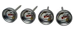 Starfrit 093809 BBQ Potato Thermometers Mini Set of 4