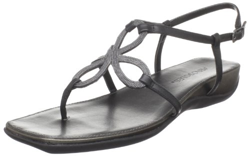 Aerosoles Women's Soul Mate Dress Sandal,Black Leather,10 W US