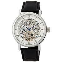 [ブルッキアーナ]BROOKIANA arabesque-skeleton 機械式腕時計  スケルトン スモールセコンド BA1654-SV メンズ