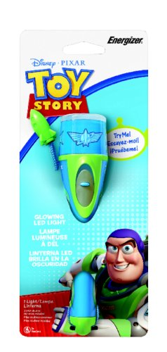 Energizer Disney Toy Story Buz LED Flashlight (3AAA Batteries Included)