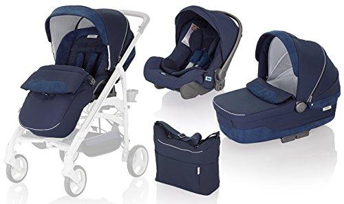 Inglesina Trio Trilogy system  (telaio non incluso) marina passeggino per carrozzina e seggiolino, colore: Blu