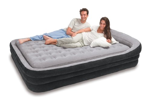 Intex Comfort Frame Airbed Kit, Queen