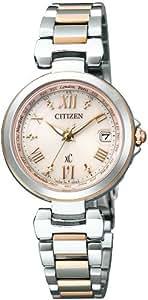 [シチズン]CITIZEN 腕時計 xC クロスシー HAPPY FLIGHT Eco-Drive エコ・ドライブ 電波時計 多局受信型 針表示式 北川景子広告着用モデル マスコミメインモデル EC1034-59W レディース