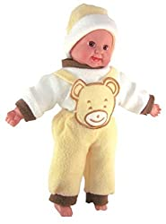 SMT Laughing Baby Stuffed toys YELLOW