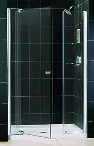 Amazon Com Allure Frameless Pivot Shower Door Opening