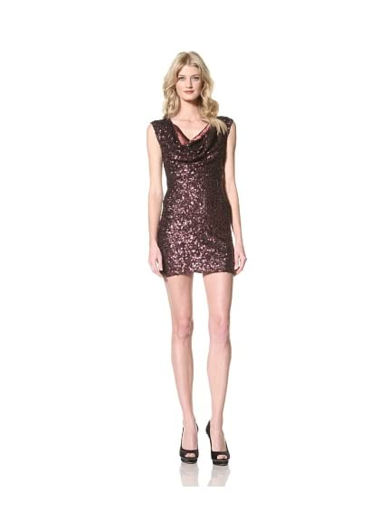 French Connection Women's Fast Sam Sequined Dress