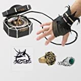 Disguise Disney Pirates Of The Caribbean Captain Jack Sparrow Costume Accessory Kit