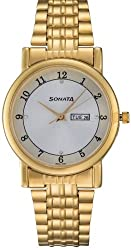 Sonata Wedding Analog Silver Dial Mens Watch - 7987YM03