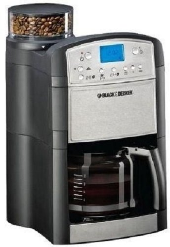 Black-Decker-PRCM500-Coffee-Maker-Coffee-Grinder-220-Volts-Not-for-USA