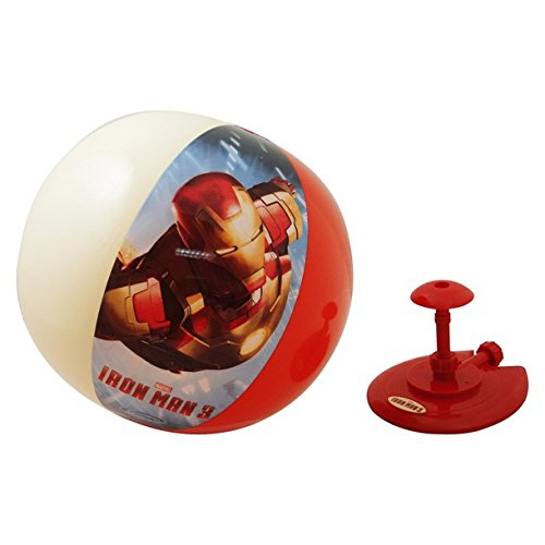SwimWays Hover Ball Sprinkler - Iron Man - 1