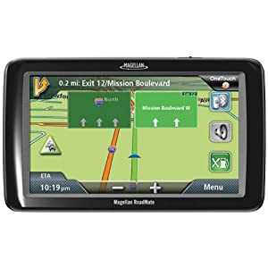 Magellan RoadMate 9055 7-Inch Bluetooth Portable GPS Navigator with Lifetime Traffic