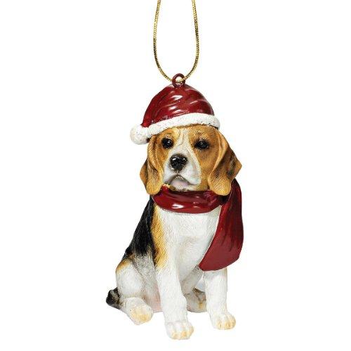 JH576327 Beagle Hund Festtags Schmuck Weihnachts Dekoration