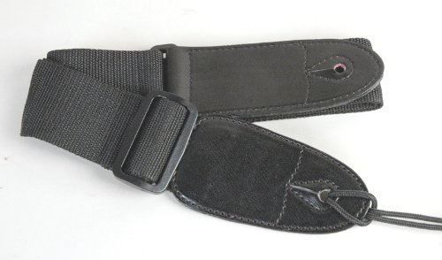 Guitar Strap, Nylon, Black