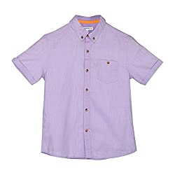 Poppers by Pantaloons Boy's Shirt 205000005579934_Purple_9 - 10 Years