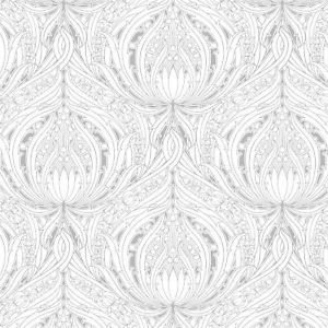 Graham and Brown Voyesy Wallpaper - Taupe by New A-Brend