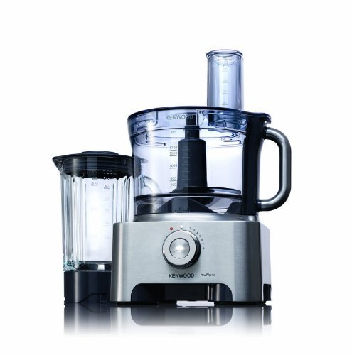 Kenwood FPM800 3.5 Litre 1000 Watt Multi-Pro Sense Food Processor - Brushed Metal by Kenwood