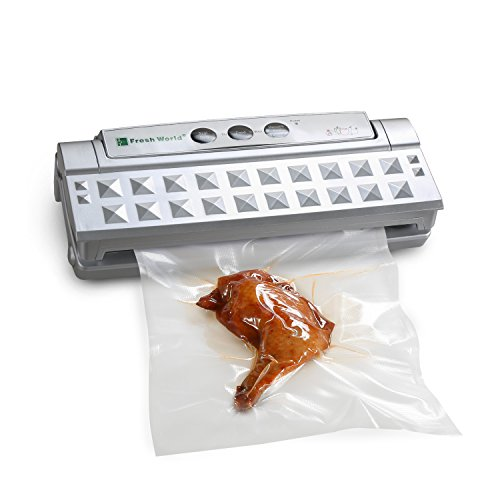 Fresh World Vacuum Sealer with Starter Kit for Food, Paperwork, Wine, Jewelry, Clothing, etc (Canning Vacuum Sealer compare prices)