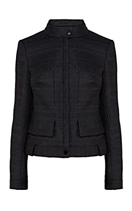 Textured jacquard jacket