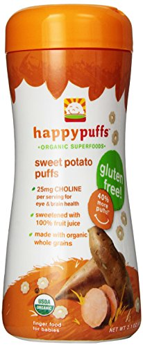 Happy Puffs Sweet Potato Puffs