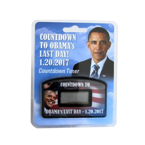 Bye Bye Barack President Obama Countdown Timer Clock to Last Day in Office