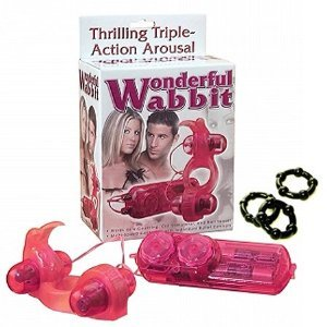 41%2B1rqm3ZZL. SL500  Pipedream Products Wonderful Wabbit Adult Sex Toy Kit
