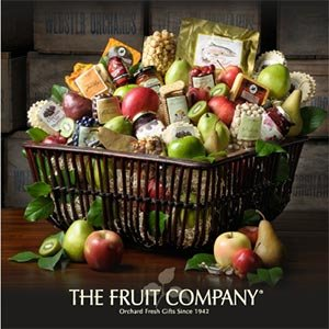 The Fruit Company® Oregon's Cascade Gift Basket Mother's Day Gift