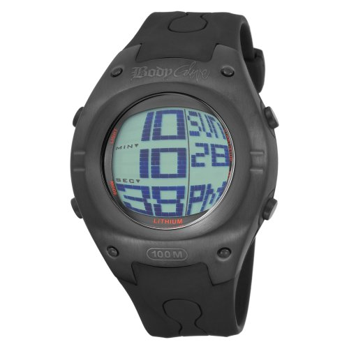 Body Glove Men's 70203 Warpt Digital Black Watch