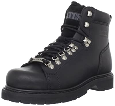 Bates Men's Black Canyon Motorcycle Boot
