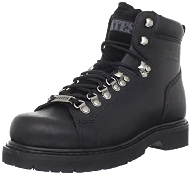 Bates Mens Black Canyon Motorcycle Boot by Bates