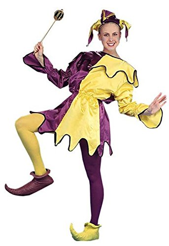 ... Costume · Mardi Gras Purple/Yellow Satin Jester ...  sc 1 st  Holly Jolly Holidays & Harlequin Jester Costumes for Mardi Gras