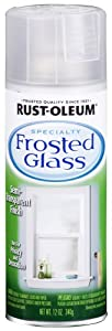 Rust-Oleum 1903830 Frosted Glass 11-Ounce Spray, Frosted Glass