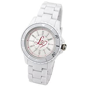 Lipsy Ladies White Plastic Bracelet Watch LP019