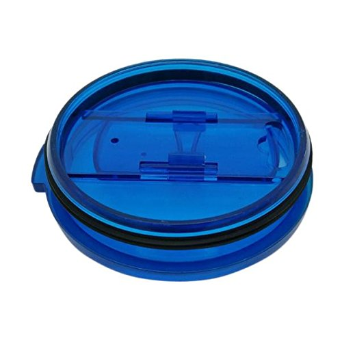 LUNIWEI Spill And Splash Resistant Lid With Slider Closure For 20 Oz (Blue) (Hot Box For Bed Bugs compare prices)